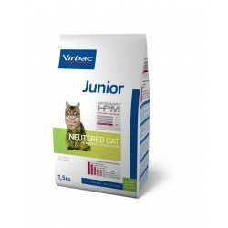 Virbac Hpm Cat Junior Neutered Porc et Volaille