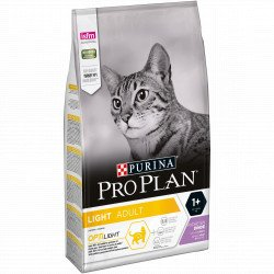 PROPLAN CAT ADULT LIGHT DINDE SAC 3 KG