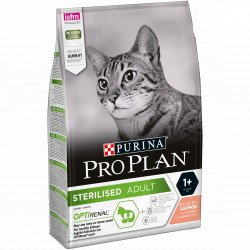 PROPLAN CAT STERILISED SAUMON SAC 3 KG
