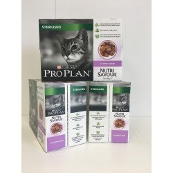 Proplan Sterilised Chat Adult Dinde Pack 30 sachets