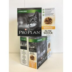 Proplan Cat Adult Sterilised Sachet Sauce au Poulet Pack 30 sachets