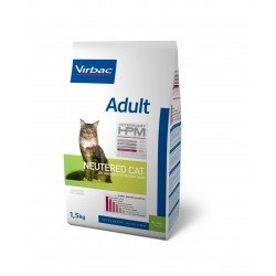 Virbac Hpm Cat Adult Neutered Porc et Volaille